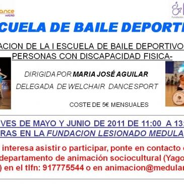 Escuela de Baile Deportivo de la Fundación del Lesionado Medular