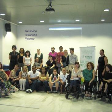 Jóvenes americanos con discapacidad visitan Aspaym Madrid y la Fundación del Lesionado Medular