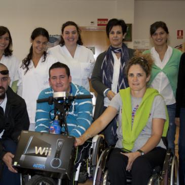 Donación WII al Departamento de Terapia Ocupacional de la Fundación del Lesionado Medular
