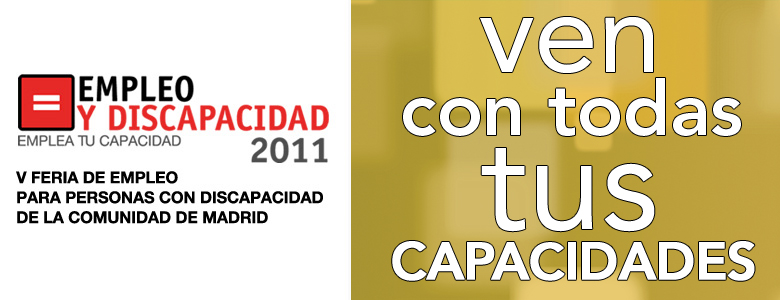 V Feria de empleo para personas con discapacidad de la Comunidad de Madrid