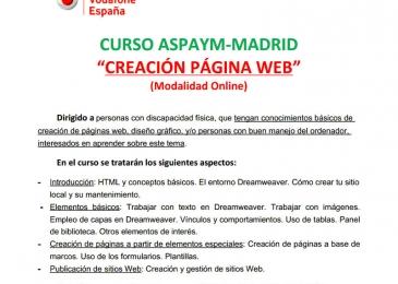 Curso creación de pagina web