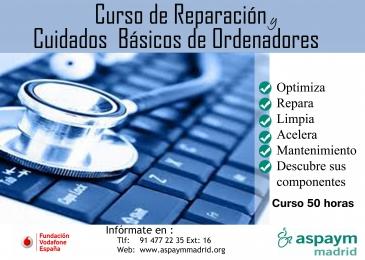Curso de reparación y cuidados básicos de ordenadores