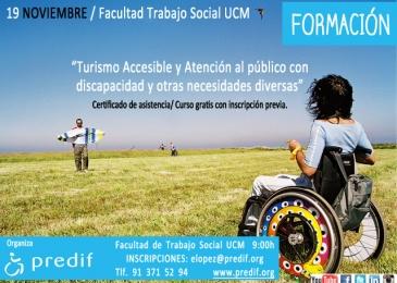 """curso sobre """"Turismo accesible y atención al cliente con discapacidad u otras necesidades diversas"""", organizado por PREDIF"""