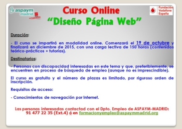 Curso de Diseño Página Web (Online)