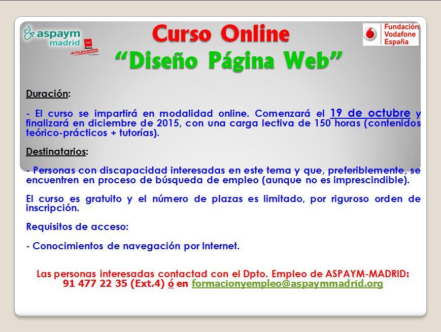 curso diseño web (online)