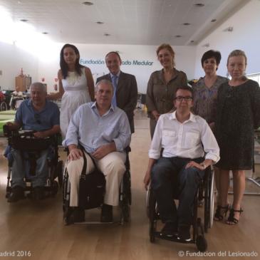 Aspaym Madrid y la Fundación A Víctimas de Tráfico firman un convenio de colaboración