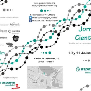 Madrid acoge desde mañana las XXII Jornadas Científicas de Aspaym