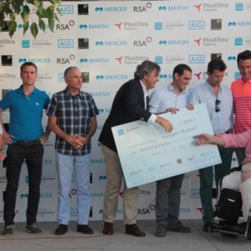 La Asociación de Voluntarios de Marsh recauda 7.500 euros en favor de Aspaym Madrid