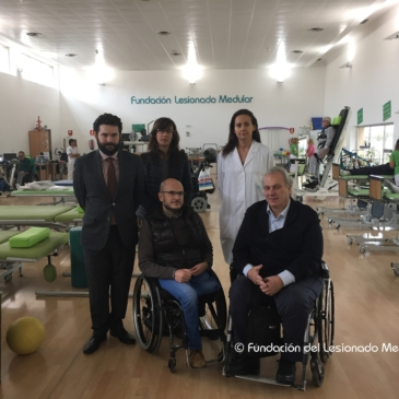 La Fundación del Lesionado Medular y ASPAYM Madrid reciben la visita de COCEMFE