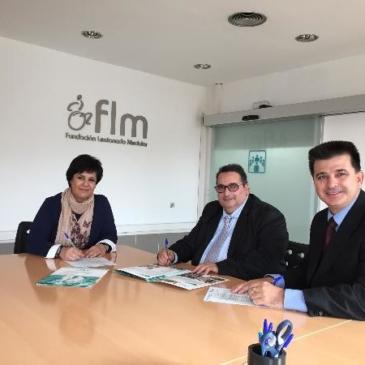 Aspaym Madrid y la FLM acuerdan con Amigo24 poner a disposición de los usuarios material de movilidad personal