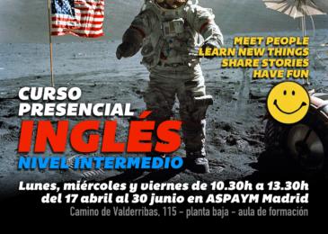 Curso gratuito presencial de Inglés: Nivel Intermedio