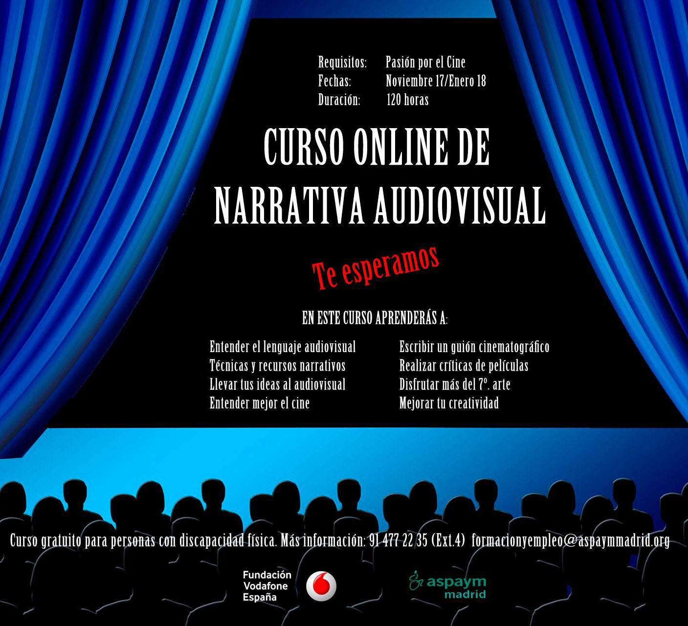 Curso narrativa audiovisual