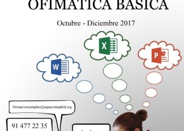 Curso online y gratuito de Ofimática Básica
