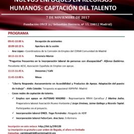 """Sesión Formativa de sensibilización sobre """"Nuevos Enfoques en Recursos Humanos: Captación del Talento"""""""