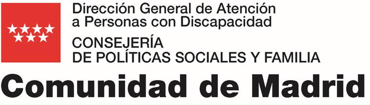 Resultado de imagen de politicas sociales madrid consejería logo