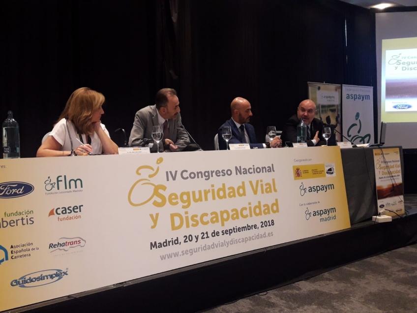 Madrid acoge el IV Congreso Nacional Seguridad Vial y Discapacidad