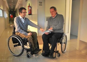 """ASPAYM Madrid realiza el programa """"Tutorías para personas con lesión medular reciente"""" gracias a la colaboración de Fundación Ibercaja"""