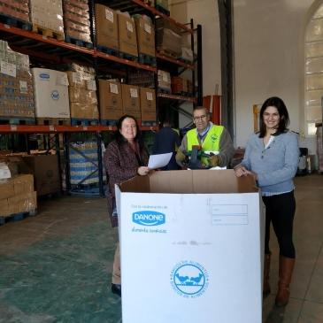 Recogidos más de 150 kilos de comida para el Banco de Alimentos de Madrid