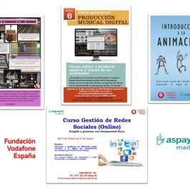 Más de 60 personas con discapacidad reciben formación gracias a Fundación Vodafone y ASPAYM Madrid
