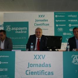 Éxito de las XXV Jornadas Científicas de ASPAYM Madrid