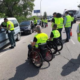 Campaña de tráfico 2019 «No corras, no bebas, no cambies de ruedas»