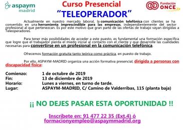 Curso Teleoperador