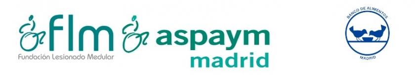 3ª Recogida para el Banco de Alimentos ASPAYM Madrid