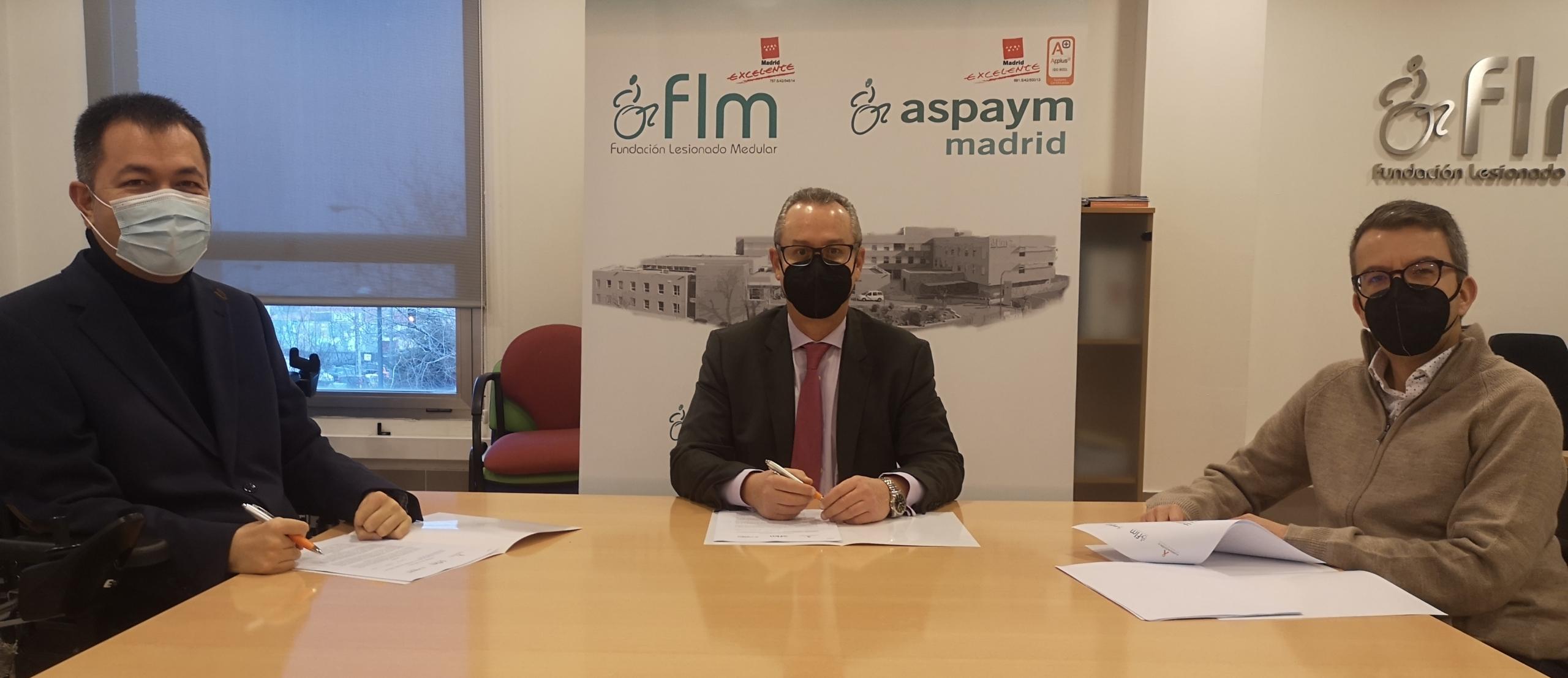 Firma convenio Fundación A