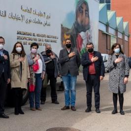 El movimiento asociativo español de la discapacidad se solidariza con los refugiados saharauis y dona 5,5 toneladas de ayuda humanitaria