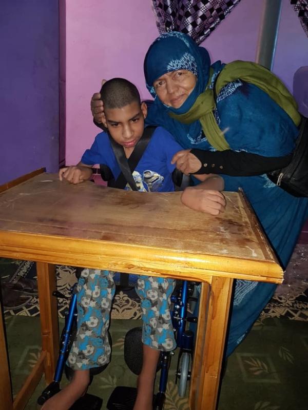 donación sahara