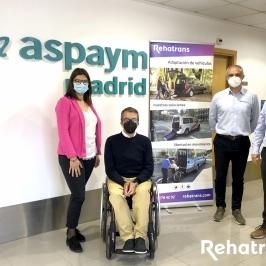 Renovamos el convenio de colaboración con Rehatrans